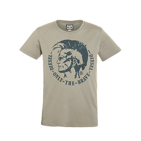 Buy Diesel T-Achel Mohawk T-Shirt Online at johnlewis.com