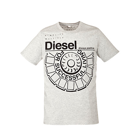 Buy Diesel T-Ballock Logo Crew Neck T-Shirt Online at johnlewis.com