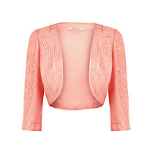 Buy Jacques Vert Sheer Bolero, Orange Online at johnlewis.com