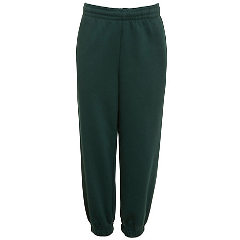 Buy School Unisex Jogging Bottoms, Forest Green Online at johnlewis.com