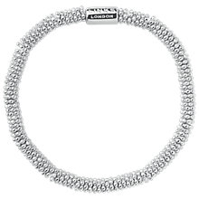 Buy Links of London Effervescence Sterling Silver Stretch Bracelet Online at johnlewis.com