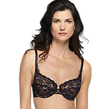Buy Wacoal All Dressed Up Balcony Bra Online at johnlewis.com