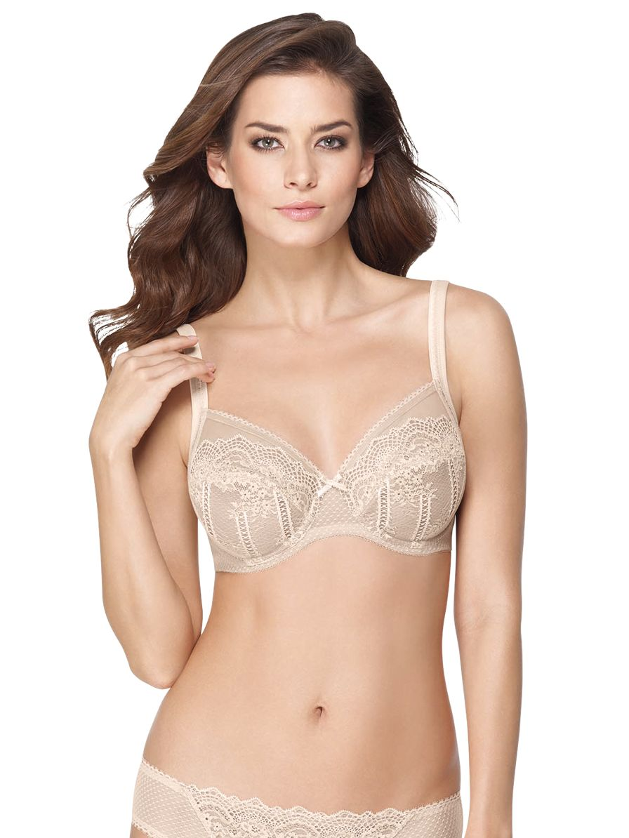 Wacoal Enchantment Plunge Bra, Nude