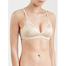 Buy Wacoal Basic Beauty Non Wired Bra, Nude Online at johnlewis.com