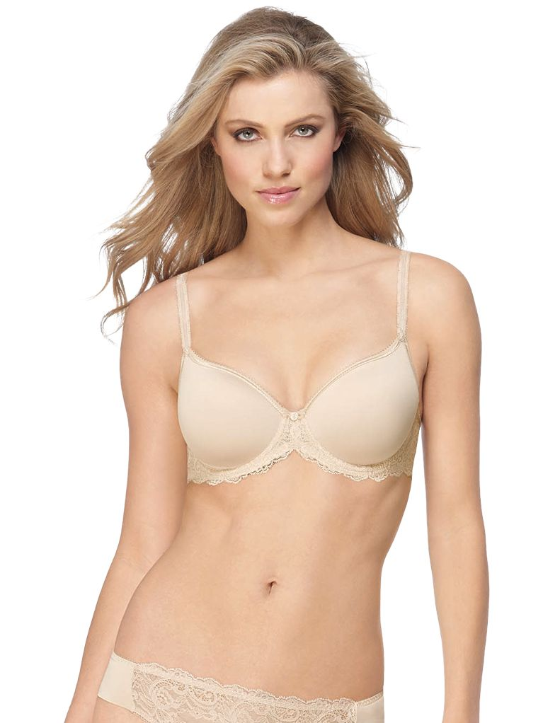 Wacoal Seduction Spacer Plunge Bra, Nude