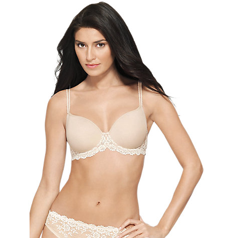Buy Wacoal Embrace Lace T-Shirt Bra Online at johnlewis.com