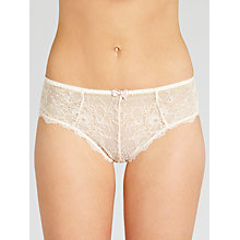 Buy John Lewis Genevieve Briefs, Cream Online at johnlewis.com