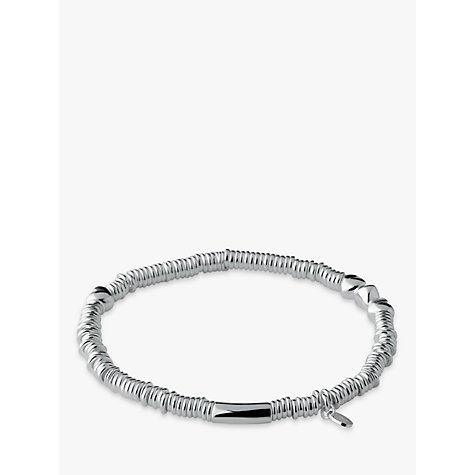 Buy Links of London Sweetie Sterling Silver Heart XS Bracelet, Silver Online at johnlewis.com