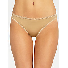 Buy Calvin Klein Seductive Comfort Thong Online at johnlewis.com