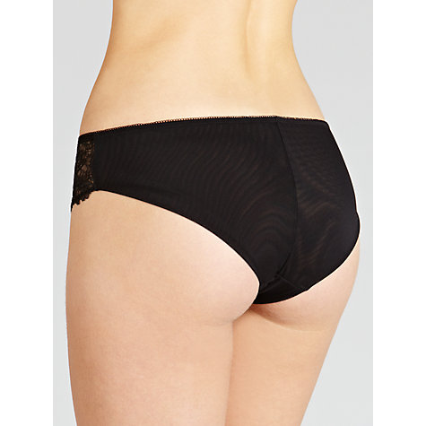 Buy COLLECTION by John Lewis Genevieve Briefs, Black Online at johnlewis.com