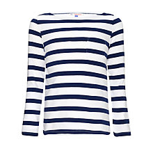 Buy John Lewis Girl Nautical Striped Long Sleeve Top Online at johnlewis.com