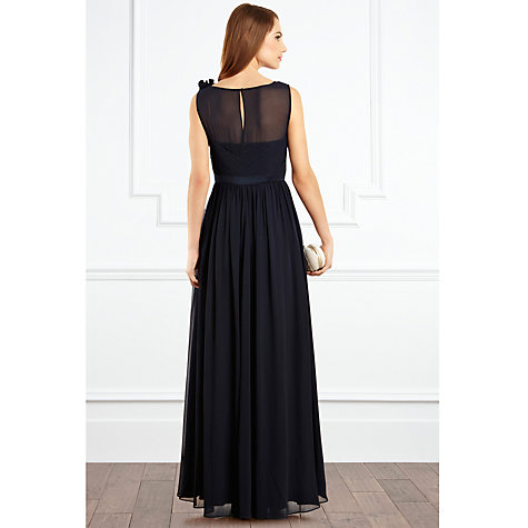 Buy Coast Penelope Maxi Dress, Navy Online at johnlewis.com