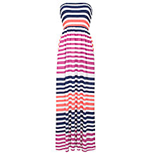 Buy John Lewis Cali Stripe Maxi Beach Dress, Multi Online at johnlewis.com