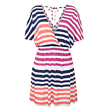 Buy John Lewis Cali Stripe Kaftan Dress, Multi Online at johnlewis.com