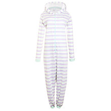 Buy John Lewis Deauville Striped Onesie, Multi Online at johnlewis.com
