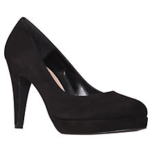 Buy Carvela Alison Heels, Black Suede Online at johnlewis.com