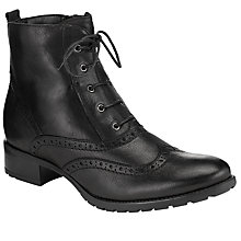 Buy John Lewis Cambridge Lace Up Ankle Boots Online at johnlewis.com