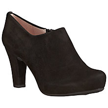 Buy Unisa Nenet Suede Shoe Boots, Black Online at johnlewis.com