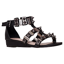 Buy Carvela Klick Sandals, Black Online at johnlewis.com