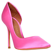 Buy Kurt Geiger Anja Cutaway Side Court Shoes Online at johnlewis.com