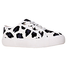 Buy KG by Kurt Geiger Leo Animal Print Trainers Online at johnlewis.com