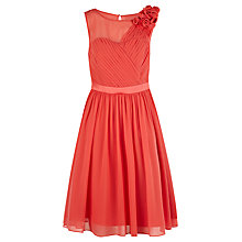 Buy Coast Penelope Dress, Coral Online at johnlewis.com