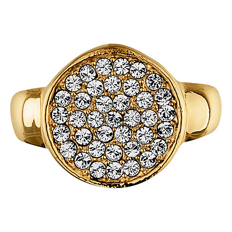 Buy Dyrberg/Kern Reina Gold Plated Crystal Ring Online at johnlewis.com