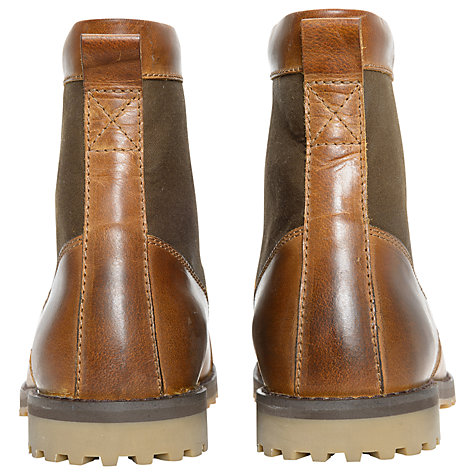 Buy Barbour Corin Leather and Canvas Boots Online at johnlewis.com