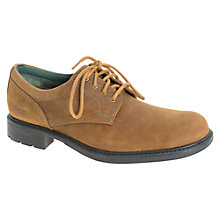 Buy Barbour Arksey Nubuck Derby Shoes, Light Brown Online at johnlewis.com