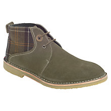 Buy Barbour Camillo Suede Chukka Boots Online at johnlewis.com