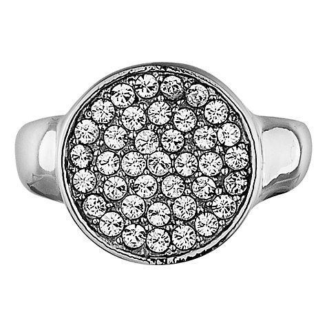 Buy Dyrberg/Kern Reina Silver Plated Crystal Ring Online at johnlewis.com