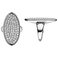 Buy Dyrberg/Kern Omega Oval Crystal Ring Online at johnlewis.com