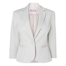 Buy Phase Eight Leah Jacket, Silver Online at johnlewis.com
