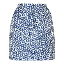 Buy Boutique by Jaeger Floral Mini Skirt, Blue Online at johnlewis.com