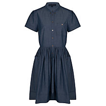 Buy French Connection Charlie Chambray Dress, Blue Online at johnlewis.com