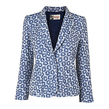 Buy Boutique by Jaeger Floral Blazer, Blue Online at johnlewis.com