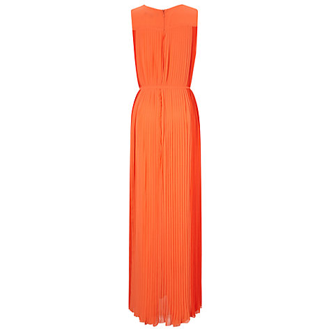 Buy French Connection Fast Miribelle Dress, Sunset Orange Online at johnlewis.com