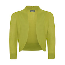 Buy Alexon Fine Knit Bolero, Green Online at johnlewis.com