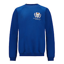 Buy The South Wolds Academy & Sixth Form Unisex Sweatshirt, Royal Blue Online at johnlewis.com
