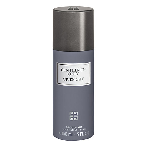 Buy Givenchy Gentleman Only Deodorant Spray, 150ml Online at johnlewis.com