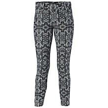 Buy French Connection Python Print Jeans, Indigo/Edelweiss Online at johnlewis.com