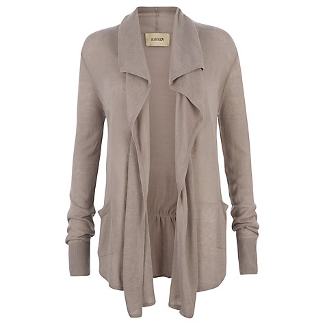 Buy Havren Drape Front Long Cardigan Online at johnlewis.com