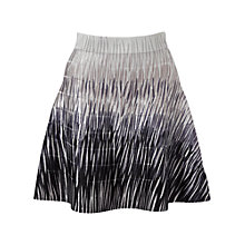 Buy French Connection Spotlight Skirt, Powder Grey Online at johnlewis.com