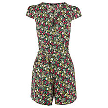 Buy Oasis Ditsy Printed Playsuit, Multi Online at johnlewis.com