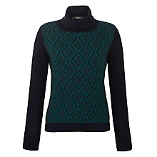 Buy Weekend by MaxMara Diamond Print Jumper Online at johnlewis.com