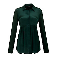 Buy Weekend by MaxMara Ercole Blouse, Dark Green Online at johnlewis.com