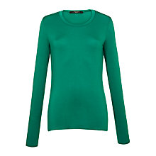 Buy Weekend by MaxMara Long Sleeved T-Shirt, Cornflower Online at johnlewis.com