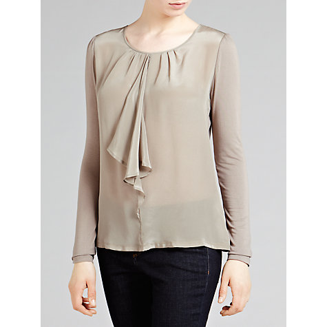 Buy Weekend by MaxMara Ruffle Front Top Online at johnlewis.com