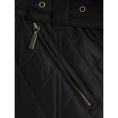 Buy Barbour Matlock Quilt Jacket, Black Online at johnlewis.com