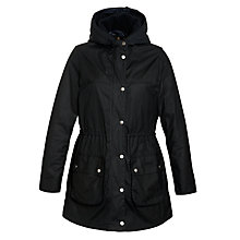 Buy Barbour Winter Durham Jacket, Navy Online at johnlewis.com